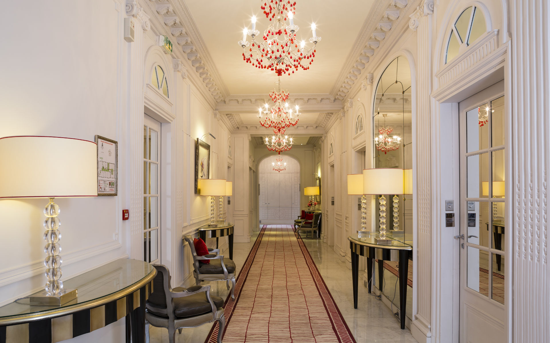 Majestic Hotel Spa 5 Star Hotel In Paris Champs Elysees